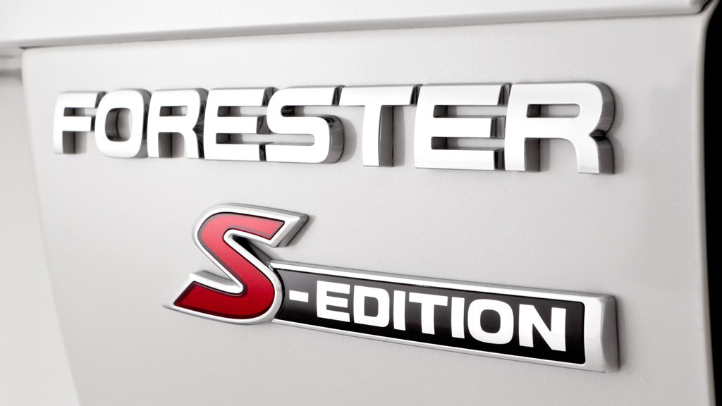2010 Subaru Forester S-Edition Concept