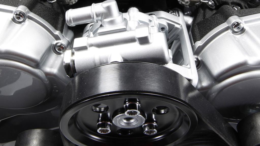 Lamborghini Aventador's 6.5-liter V-12