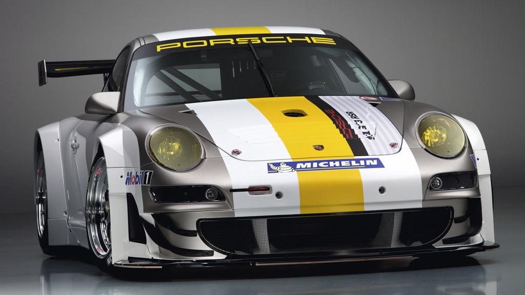 2011 Porsche 911 GT3 RSR race car