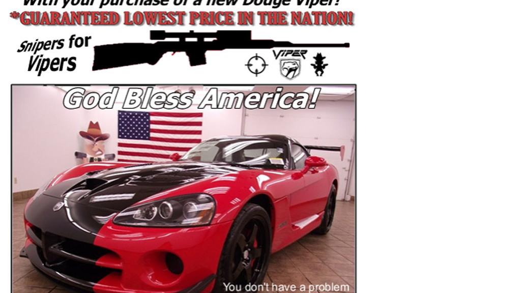 Max Motors Sniper for Viper deal