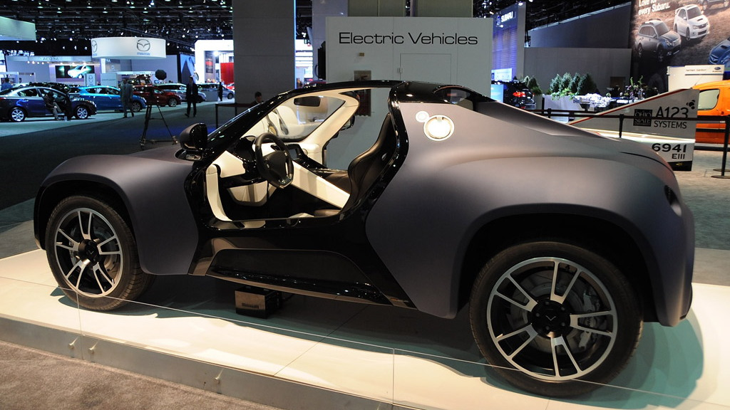 2010 Venturi America electric car concept. Photo by Joe Nuxoll.