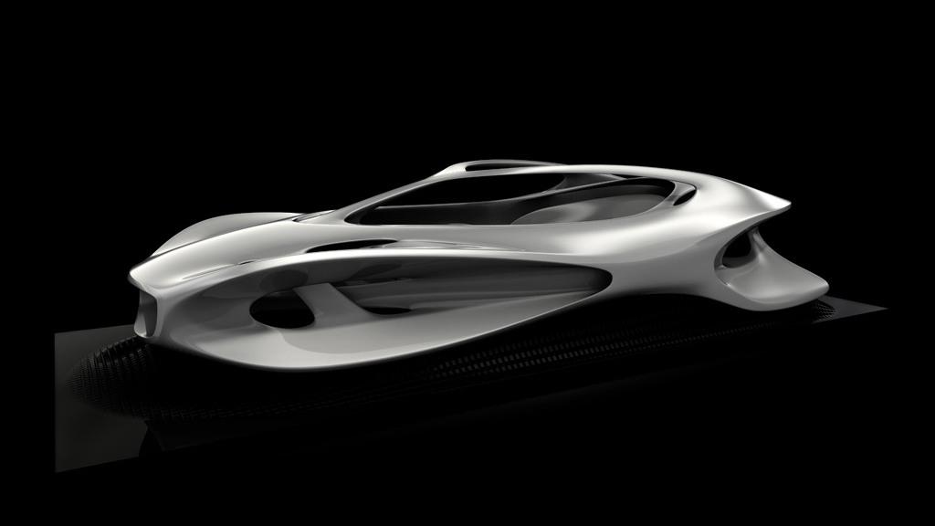"Mercedes-Benz ""Aesthetics 125"" sculpture"