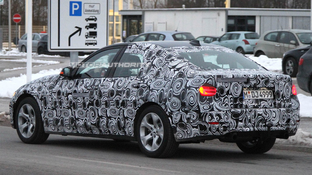 2013 BMW ActiveHybrid 3-Series spy shots
