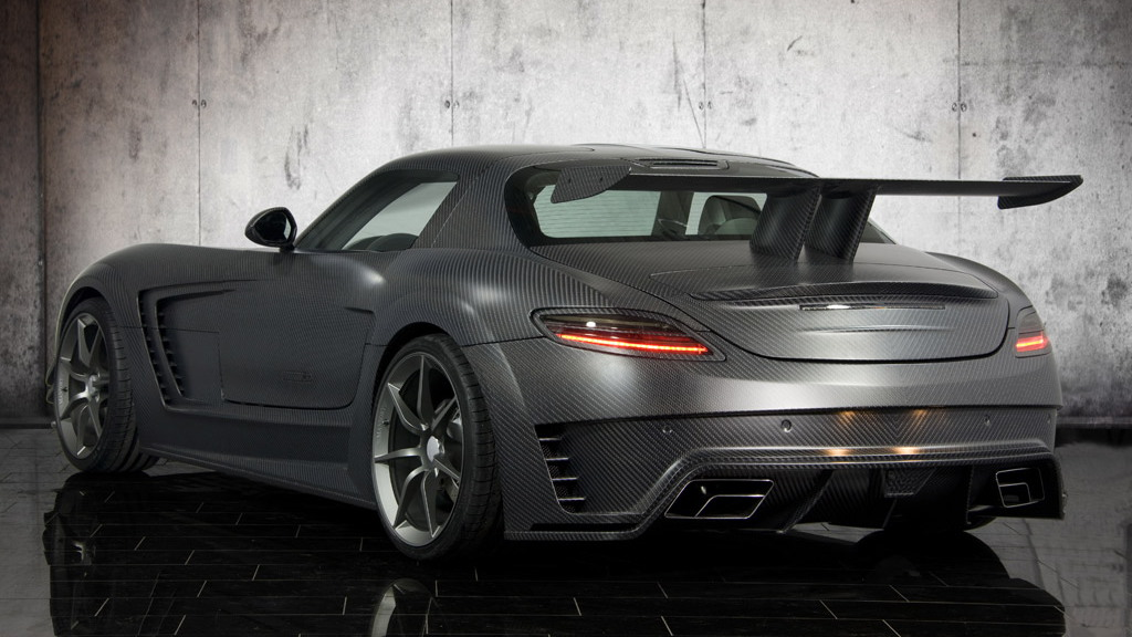 Mansory Cormeum based on the Mercedes-Benz SLS AMG