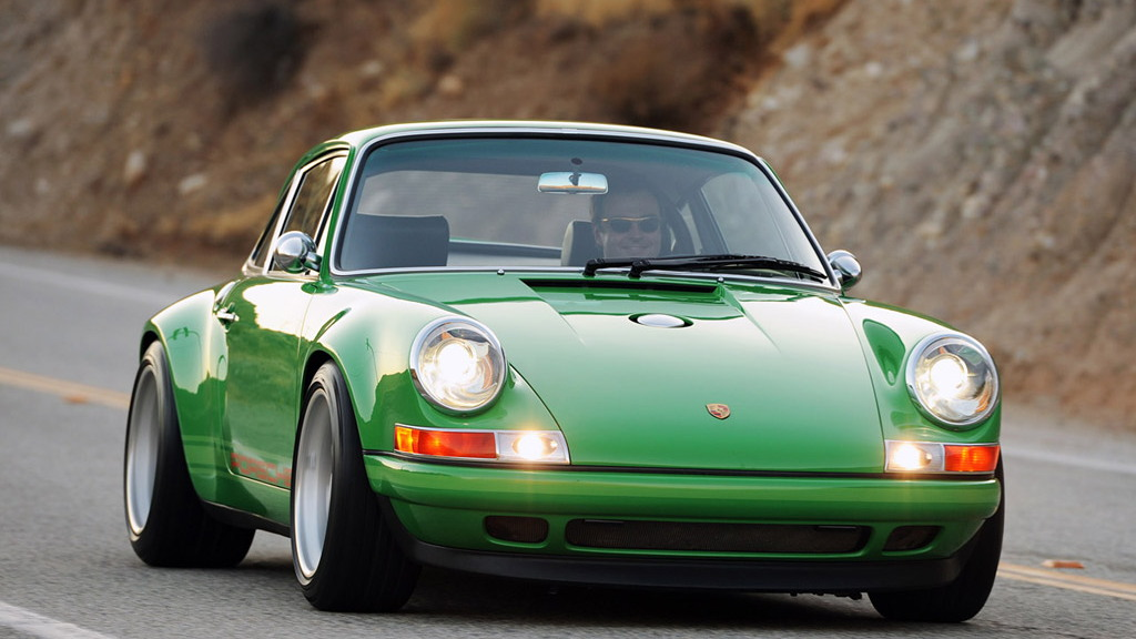 Porsche 911, restored by Singer, 2011