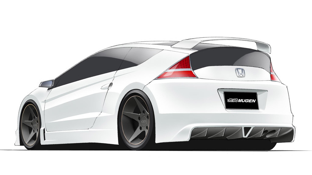 Mugen Euro high-performance Honda CR-Z preview sketch