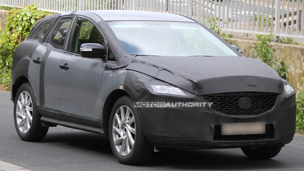 2012 Mazda CX-5 spy shots