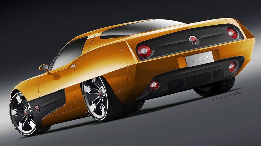 Corvette-Based Endora SC-1