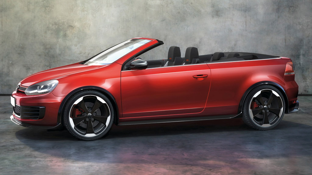 2011 Volkswagen Golf GTI Cabriolet Concept