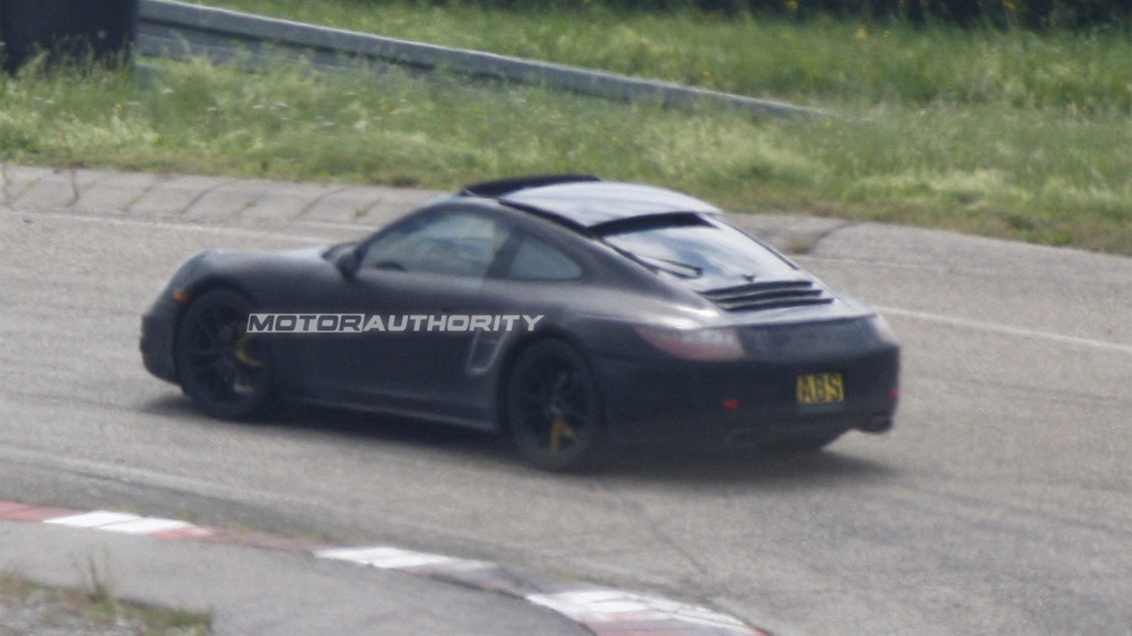 2015 Porsche 911 Targa spy shots