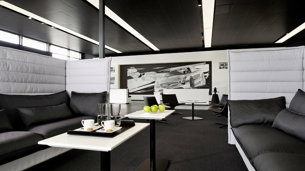 AMG lounge in Affalterbach, Germany