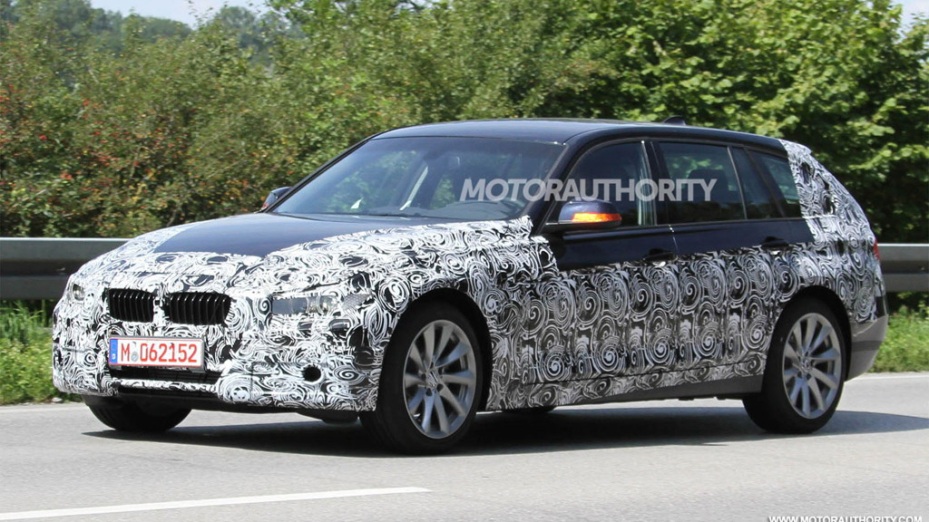 2013 BMW 3-Series Touring spy shots