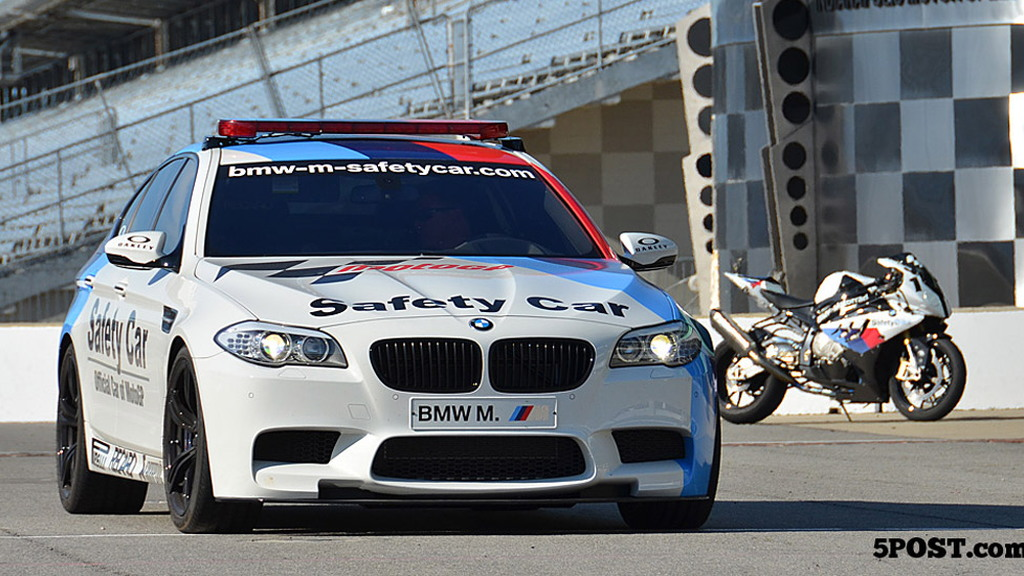 2012 BMW M5 MotoGP official safety car