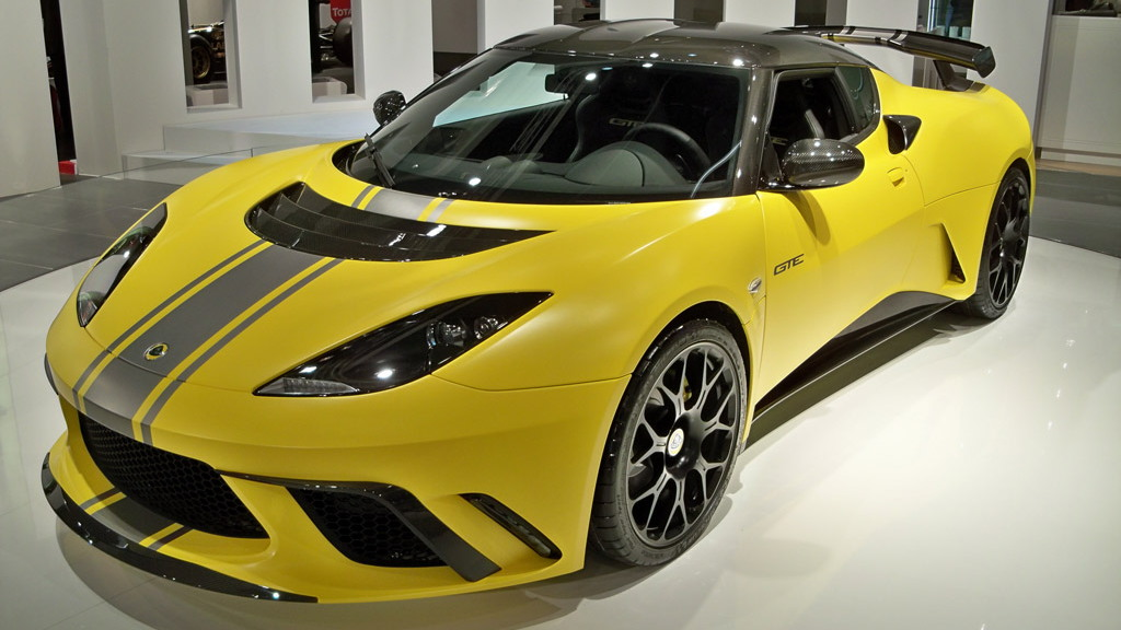 2012 Lotus Evora GTE live photos