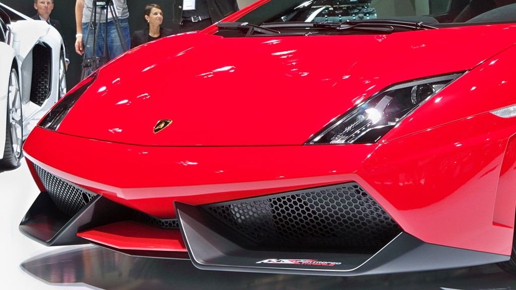 Lamborghini Gallardo LP 570-4 Super Trofeo Stradale live photos