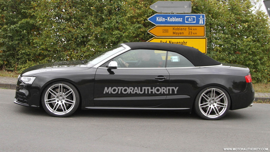 2012 Audi RS5 Cabrio spy shots