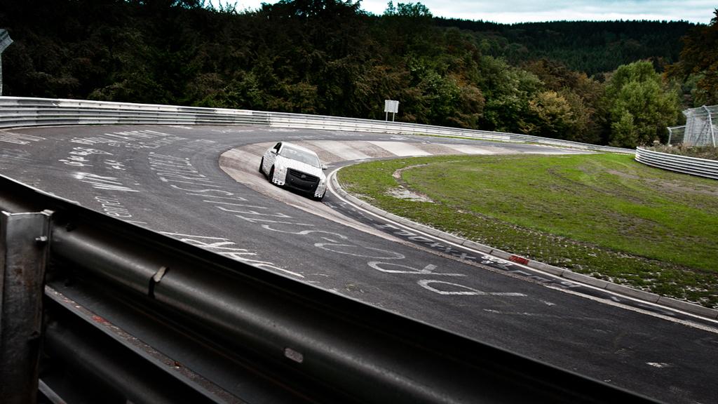 2013 Cadillac ATS testing at the Nurburgring