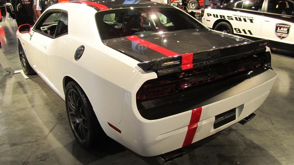 Dodge Challenger SRT8 ACR. Photos by Autoholics.com.