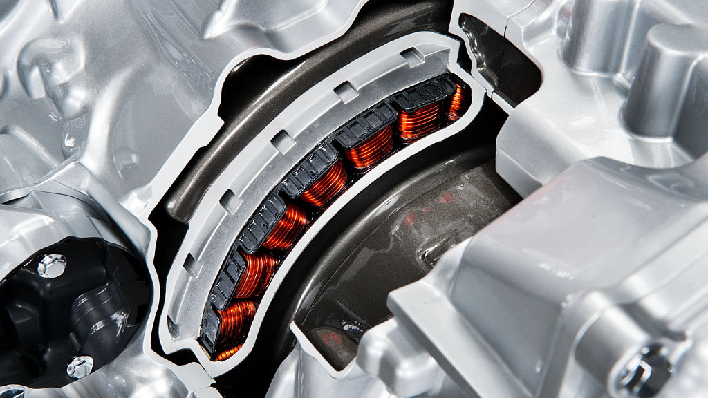 Nissan front-wheel-drive mild hybrid system
