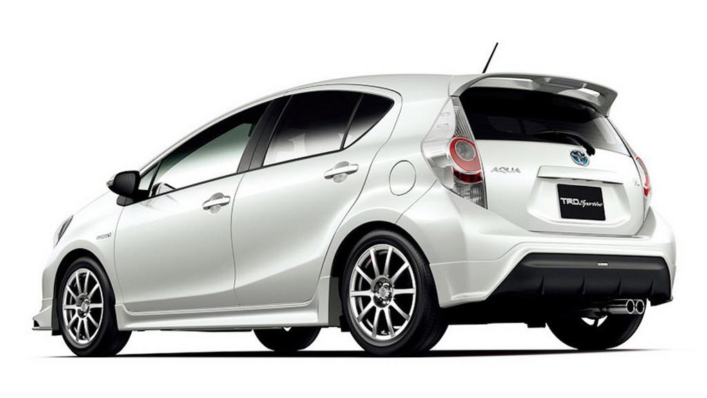 TRD and Modellista enhancements for the Toyota Aqua (Prius C)