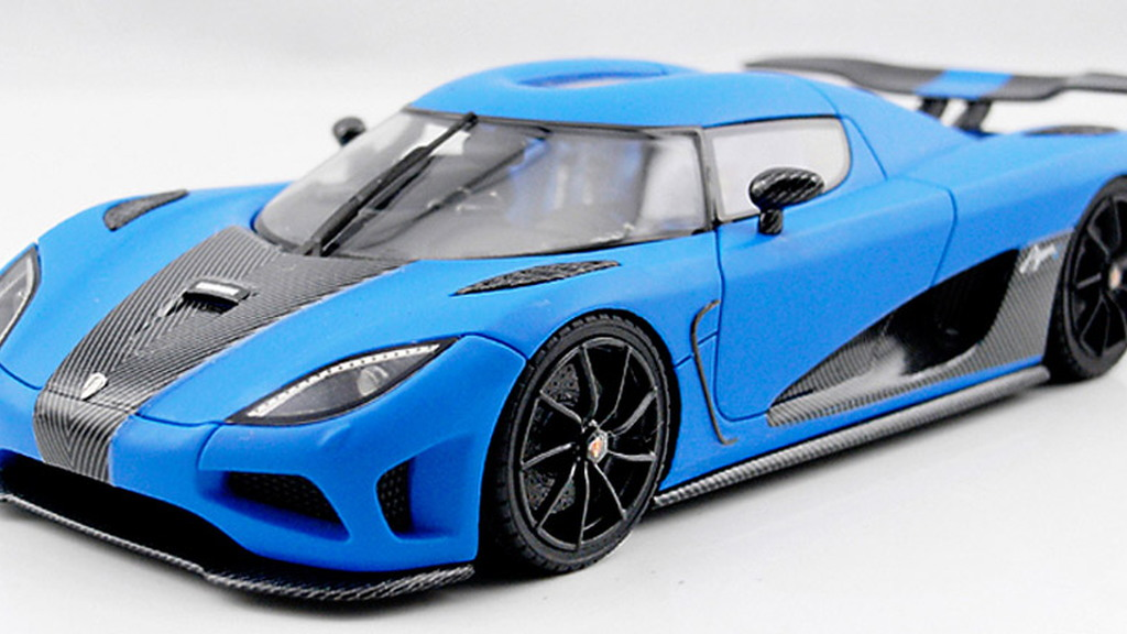 Koenigsegg Agera R 1:43 scale model