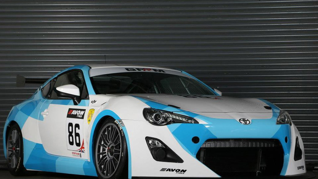 2013 GPRM Toyota GT 86 GT4 race car