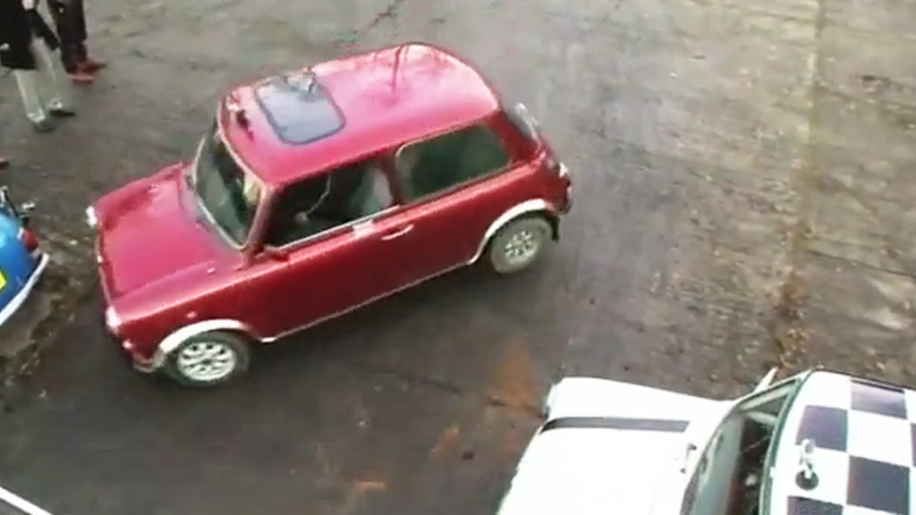World's tightest parallel park attempt