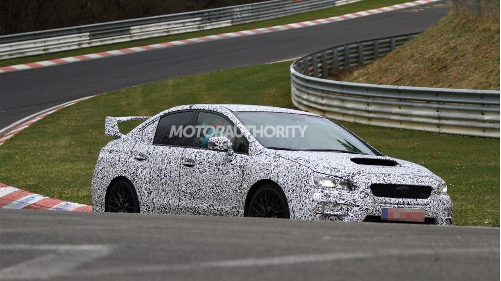 2015 Subaru WRX spy shots