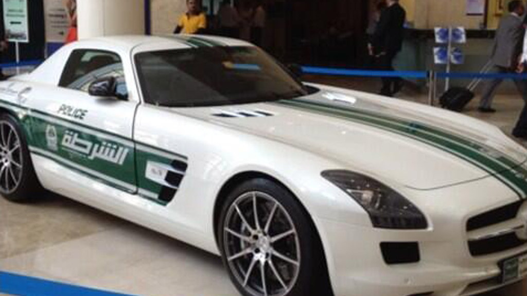 Dubai Police Enlist Aston Martin One 77 Supercar