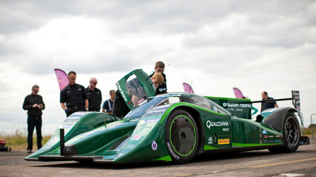 Lord Drayson and the  B12 69/EV Le Mans prototype