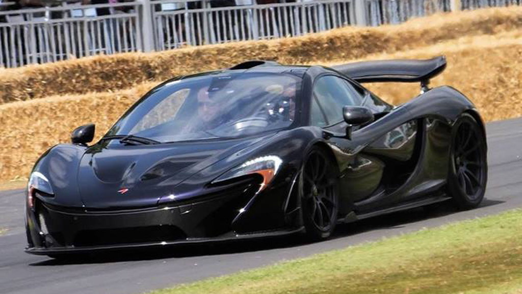 McLaren P1 at the Goodwood Festival of Speed