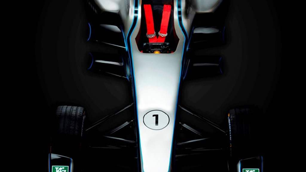 2014 Spark-Renault SRT_01E Formula E car