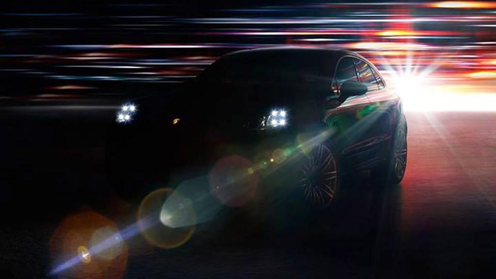 2015 Porsche Macan teaser