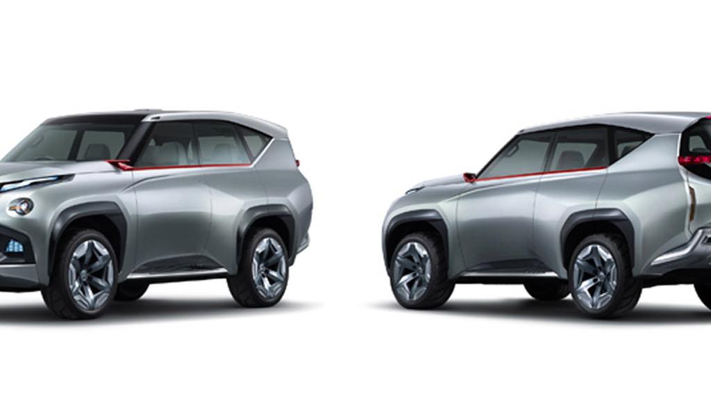 Mitsubishi Concept GC-PHEV, 2013 Tokyo Motor Show