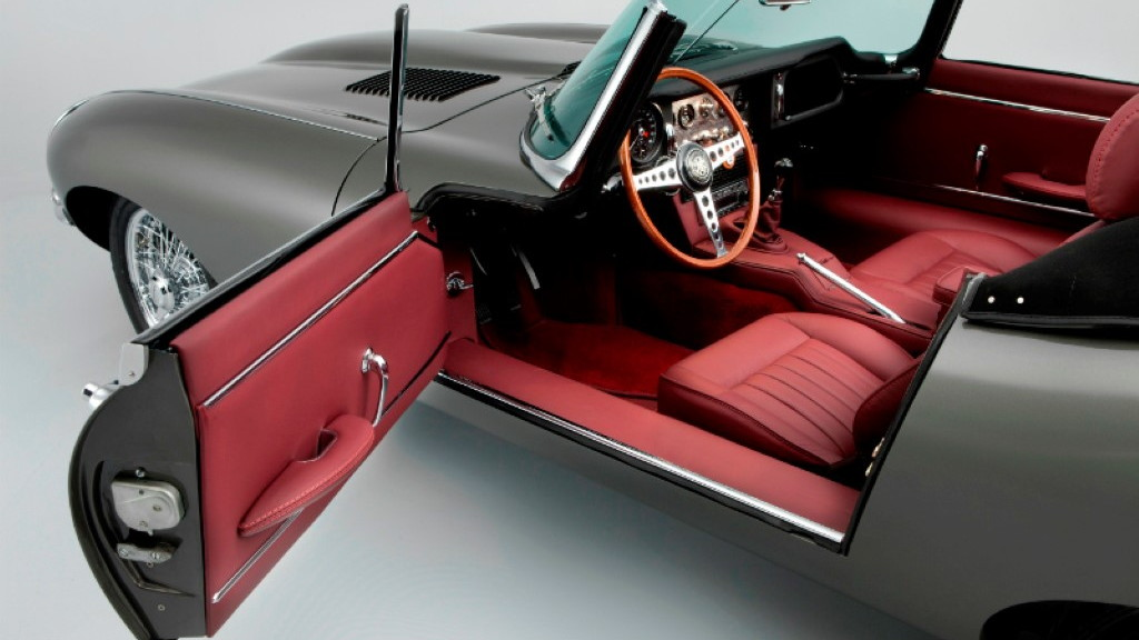Classic Motor Cars' stretched 1968 Jaguar E-Type 4.2