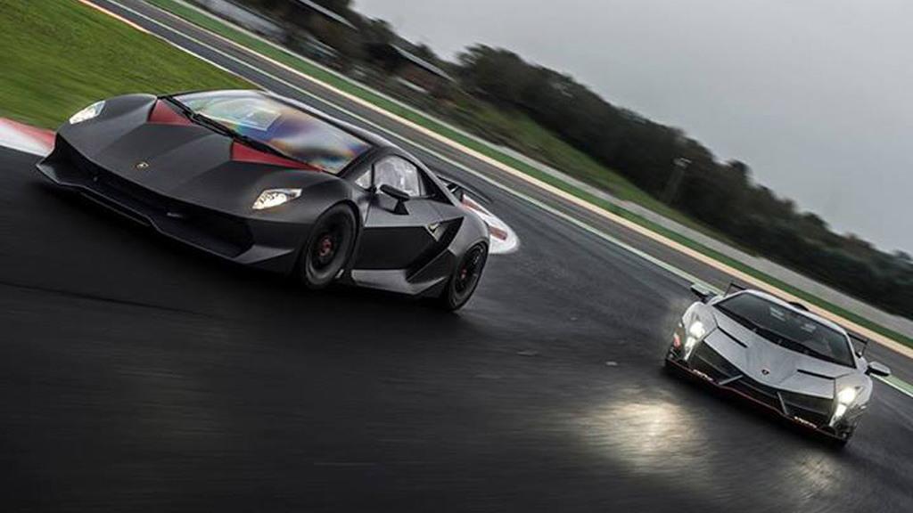 Lamborghini Sesto Elemento and Veneno