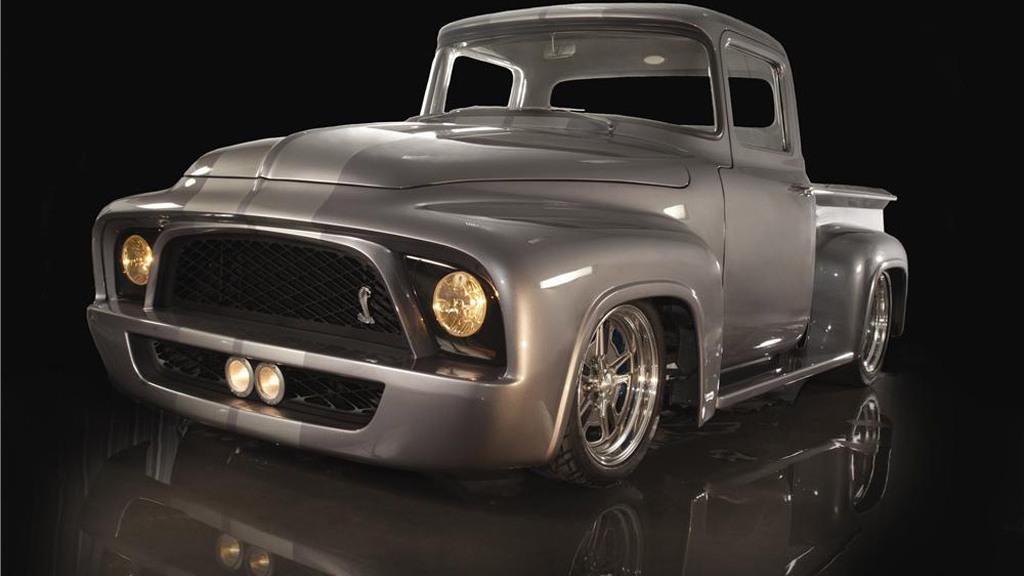 Gene Simmons' 'Snakebit' 1956 Ford F100
