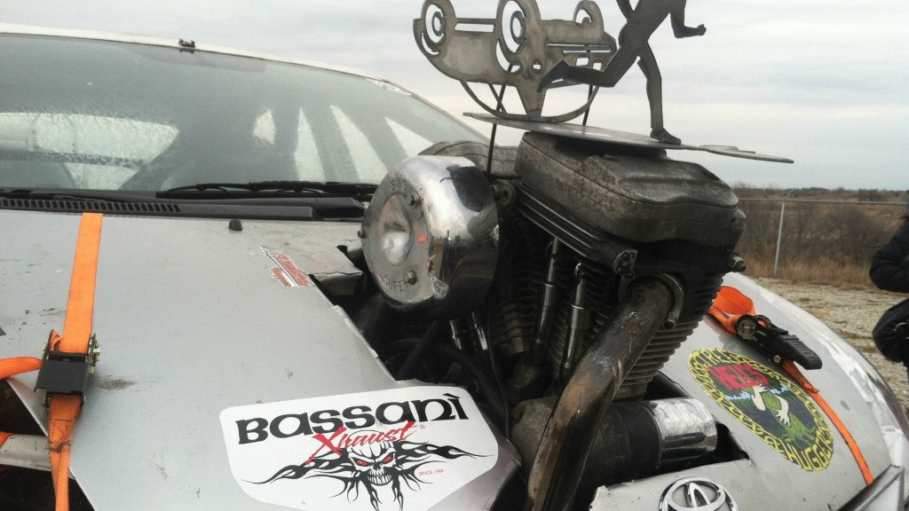 'ToyoHog' Harley-Davidson-powered Toyota Prius on eBay