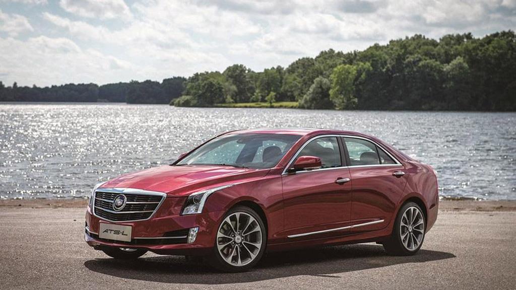 2015 Cadillac ATS-L (Chinese spec)