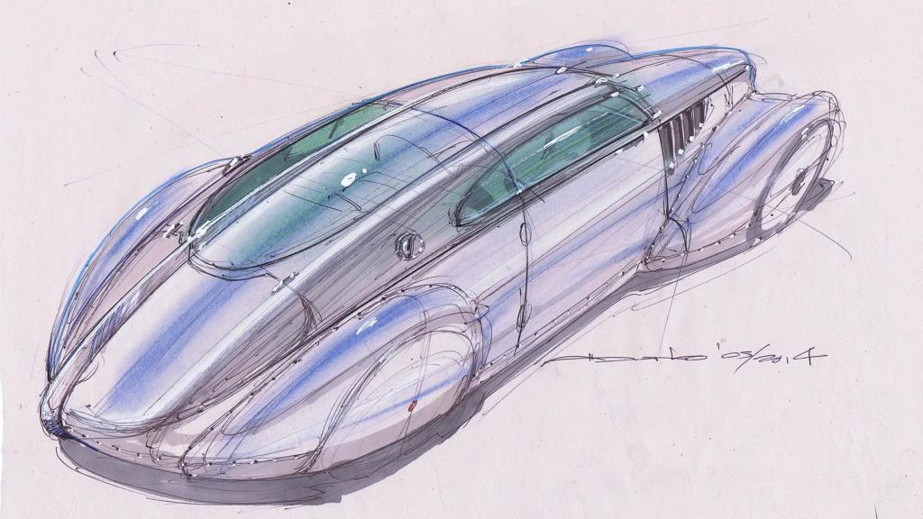 Icon Helios - Tesla-powered streamliner