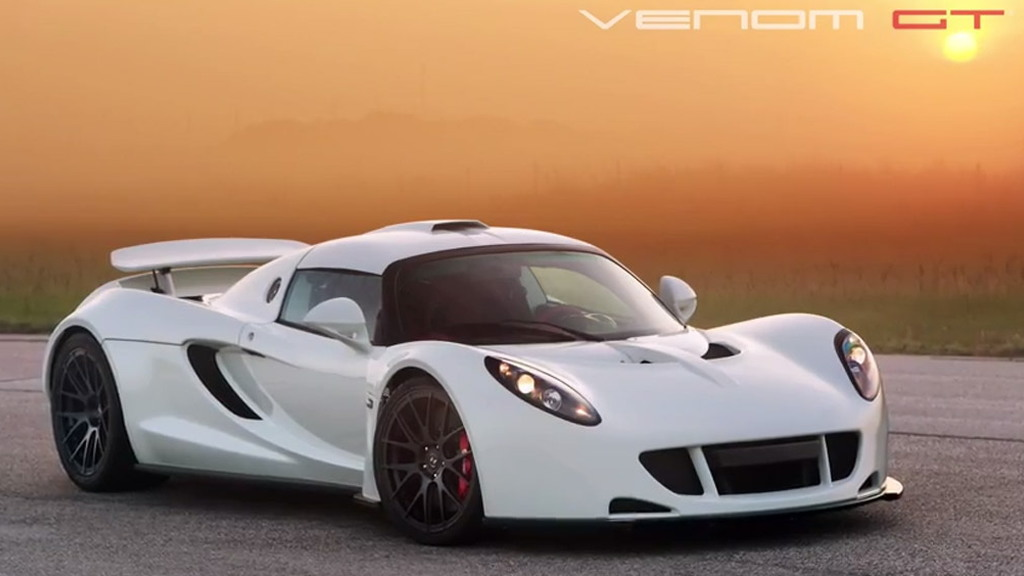 Hennessey Venom GT prepares for 2014 Pebble Beach Concours d'Elegance