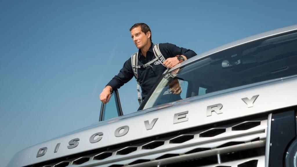 Bear Grylls joins Land Rover as brand ambassador
