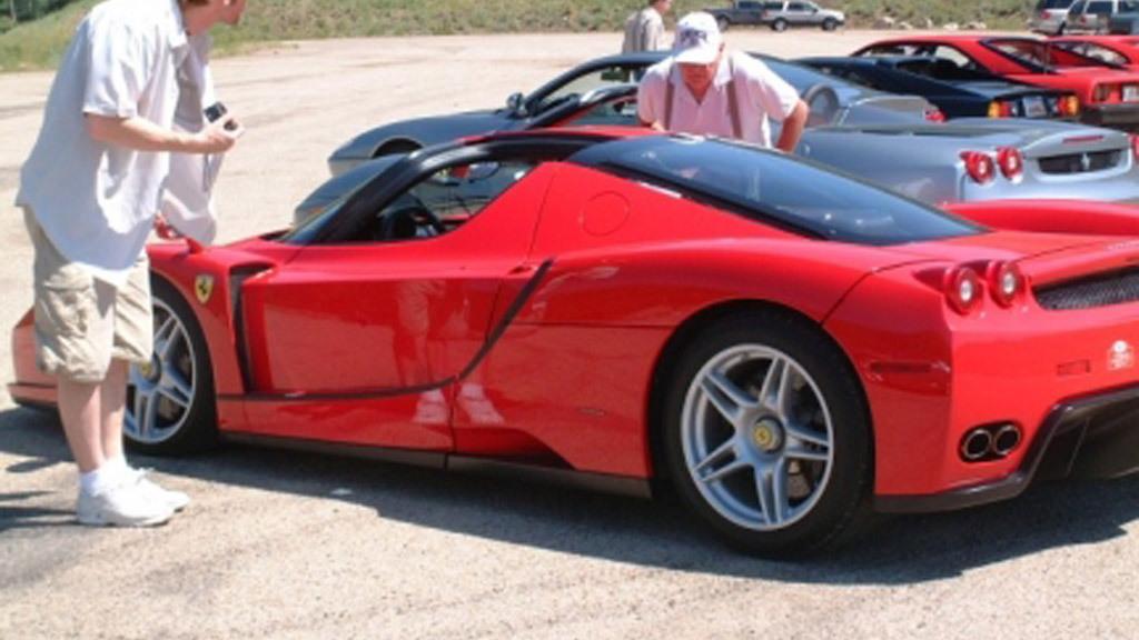 Ferrari Enzo targa