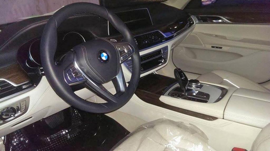 2016 BMW 7-Series leaked - Image via Autoweek.nl