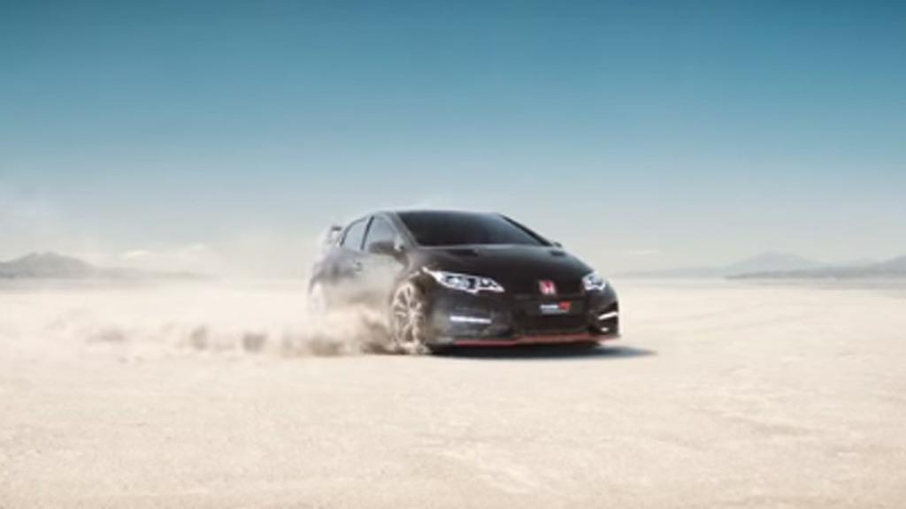 Teaser for 2015 Honda Civic Type R