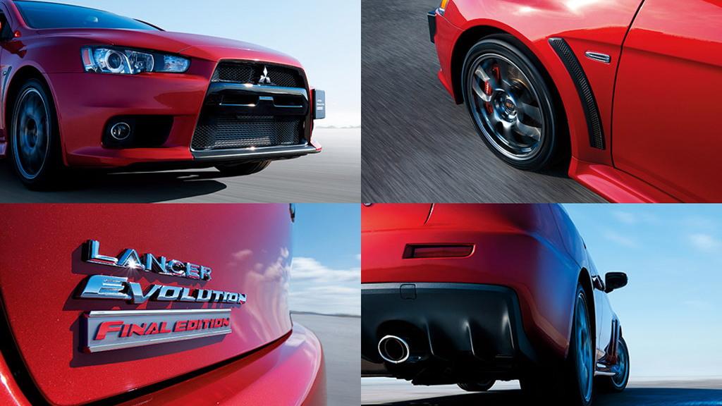 2015 Mitsubishi Lancer Evolution Final Edition (Japanese-spec)