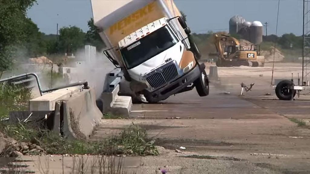 Texas A&M causeway bridge barrier