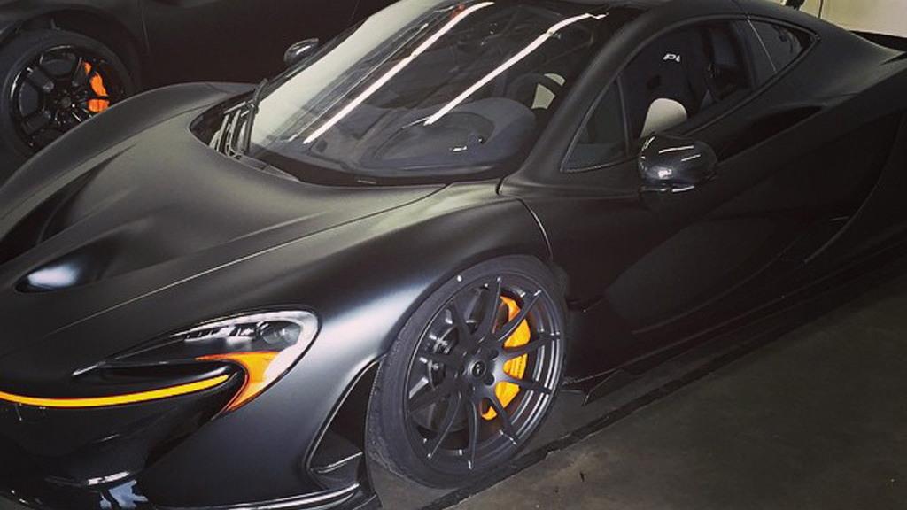 McLaren P1 owned by Canadian DJ Deadmau5