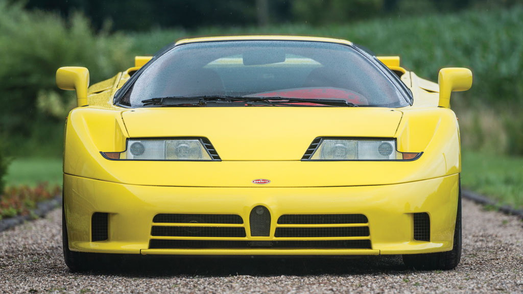 1995 Bugatti EB110 Super Sport - Image via RM Auctions