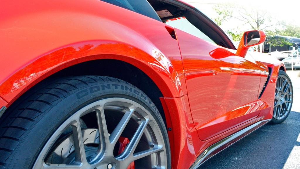 Lingenfelter wide-body kit for the C7 Chevrolet Corvette